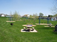 Playground and Picnic Tables